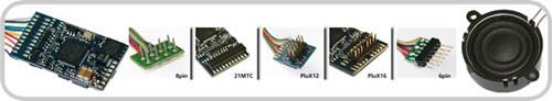 ESU 64400 - LokSound V4.0 Universal sound for reprogramming, 8-pin NEM652, Gauge: 0, H0