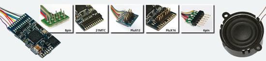 ESU 66497 - LokSound V4.0 M4 Universal sound for programming, PluX22