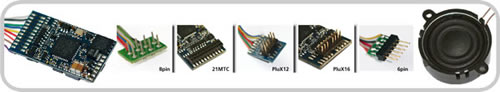ESU 66499 - LokSound V4.0 Universal sound for reprogramming, 6-pin NEM651, Gauge: 0, H0