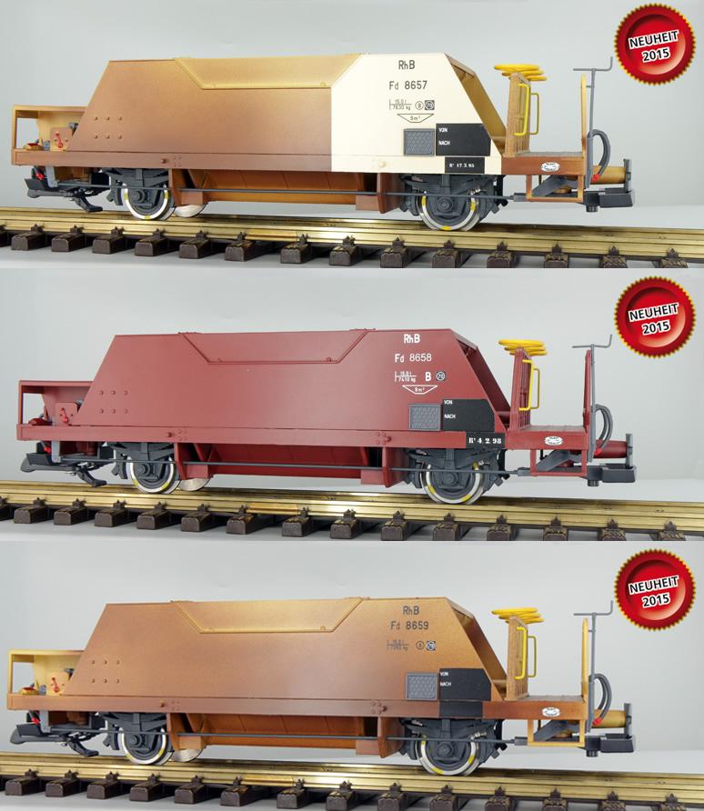 Freight Car, Pullman IIm, Hopper Car Set Of