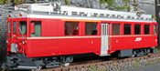 Swiss Electric Railcar ABe 4/4 II of the RhB - Nr. 44