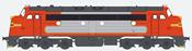 German Diesel Locomotive NoHAB Strabag Santa Fe MY 1125