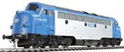 German Diesel Locomotive My Nohab, NEG, V 170 1127