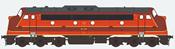German Diesel Locomotive My Nohab, Altmark Rail, My 1155