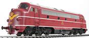 Danish Diesel Locomotive Nohab My, 1104 of the DSB