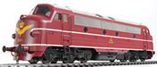 Danish Diesel Locomotive Nohab My, 1144 of the DSB
