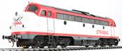 German Diesel Locomotive My Nohab, Strabag My 1142