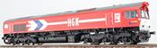 German Diesel Locomotive Class 66 HGK DE 671 (Sound Decoder)