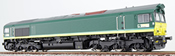 Diesel Locomotive Class 66 Ascendos DE 67 (Sound Decoder)