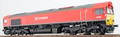 German Diesel Locomotive Class 66 DB Schenker 66001 of the DB (Sound Decoder)