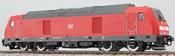 German Diesel Locomotive Class 245 of the DB AG