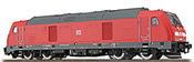 German Diesel Locomotive 245 003 of the DB, Traffic Red (Sound Decoder and Smoke)