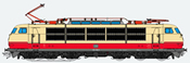 German Electric Locomotive 103 198 of the DB (Sound Decoder)