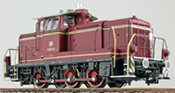 German Diesel Locomotive V60 512 of the DB, Old Red (Sound Decoder and Smoke)