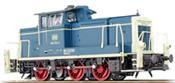 German Diesel Locomotive 260 269 of the DB, blue-beige (Sound Decoder and Smoke)