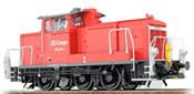 German Diesel Locomotive 362 873 of the DB AG, Traffic Red (Sound Decoder and Smoke)