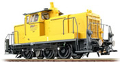 German Diesel Locomotive 362 556 of the DB AG, Yellow (Sound Decoder and Smoke)