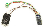 LokSound v5 micro DCC/MM/SX/M4 No sounds loaded, 8-pin NEM652, with speaker 11x15mm