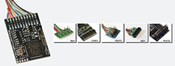 LokPilot V4.0 M4 multiprotocol MM / DCC / SX / M4, 6-pol. NEM651 plug, wiring harness