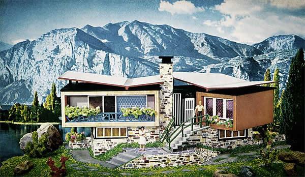 Faller 109271 - Villa in Tessin