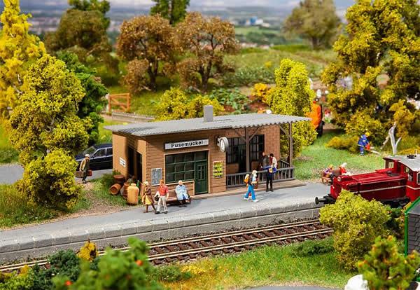 Faller 110204 - Pusemuckel Wayside station