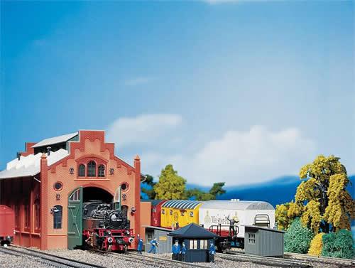Faller 120133 - Railway Personnel Work Buildings