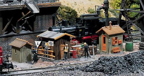 Faller 120140 - 3 Trackside shanties