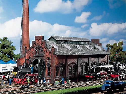 Faller 120159 - Locomotive shed/engine workshop