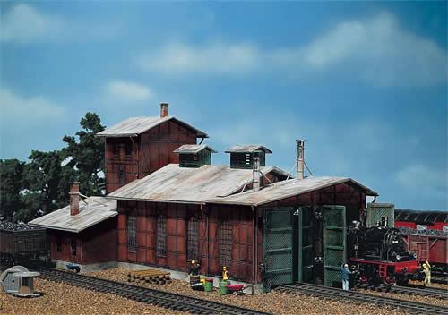Faller 120161 - Engine house, 2 stalls