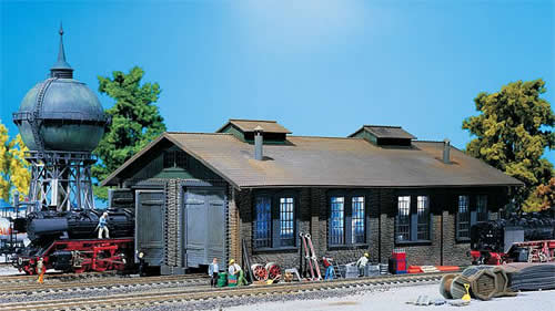 Faller 120165 - Two-stall engine shed
