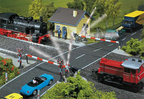 Faller 120171 - Protected level-crossing