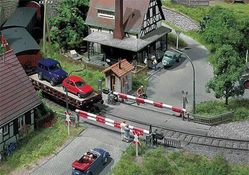Faller 120172 - Guarded level crossing