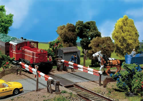 Faller 120173 - Guarded level crossing