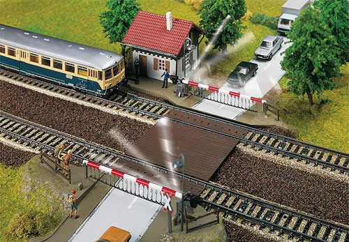 Faller 120174 - Level-crossing with gatekeeper's house