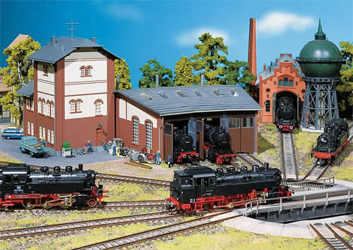 Faller 120176 - 3-Stall roundhouse