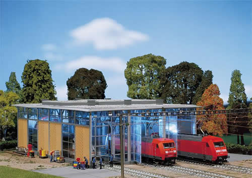 Faller 120217 - Electric engine shed, three tracks