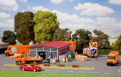 Faller 120257 - warehouse Street construction
