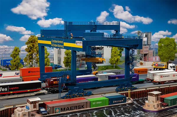 Faller 120291 - Container bridge-crane GVZ Hafen Nürnberg