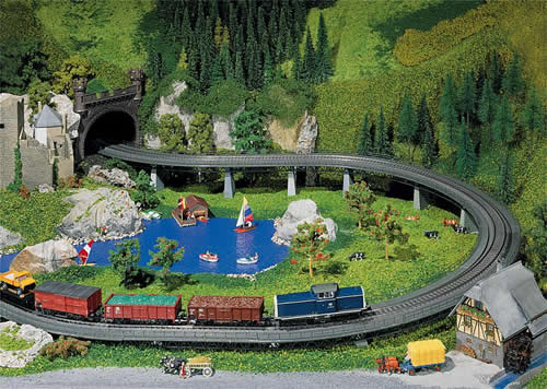 Faller 120470 - Up and over bridge set