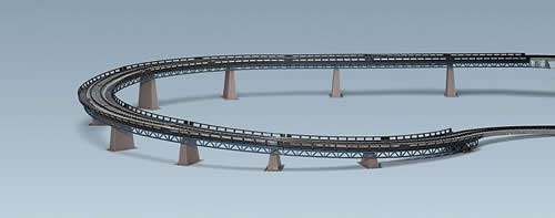 Faller 120471 - Up and over bridge set