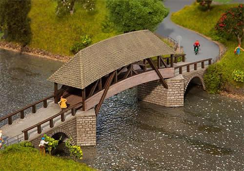 Faller 120494 - Old timber bridge