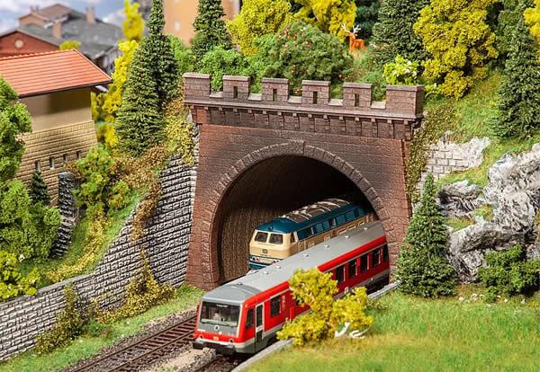 Faller 120570 - 2 Tunnel portals, two-track