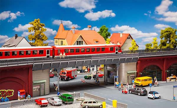Faller 120581 - Urban-railway bridge
