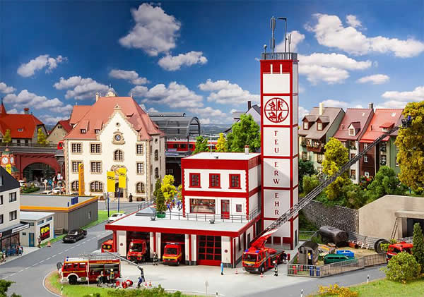 Faller 130159 - Modern fire station