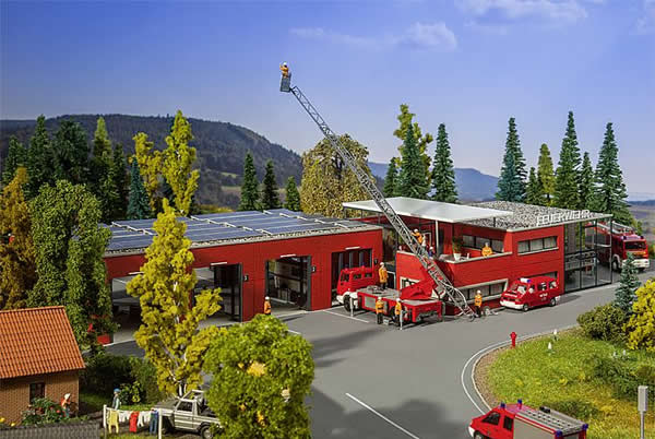 Faller 130160 - Modern fire station