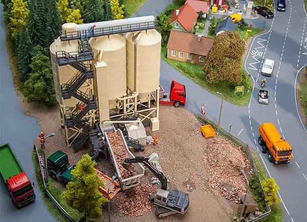 Faller 130169 - Stone crushing plant