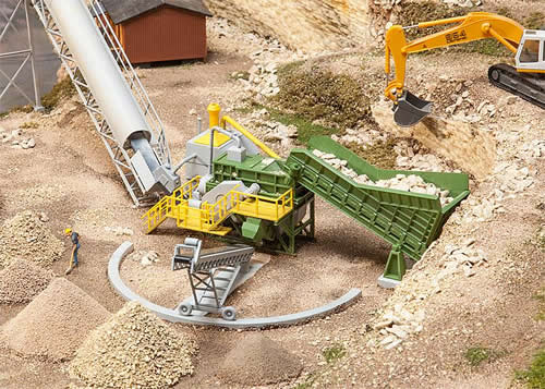 Faller 130173 - Jaw crusher with conveyor belt