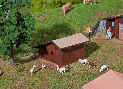 Faller 130183 - Stugl-Stuls Small livestock stable