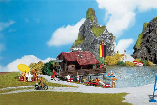 Faller 130284 - Boathouse