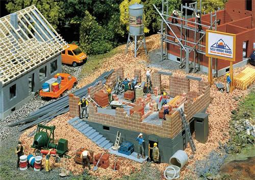 Faller 130307 - House under construction
